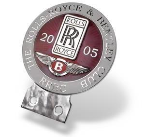 Automobilinis ženklas (Rolls Royce klubas)
