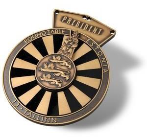 Prezidentinės grandinėlės medalionas