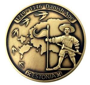 Suvenyrinis medalis, oksiduotas (sendintas)