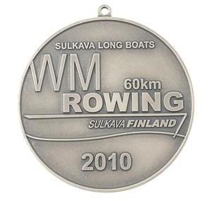 Medalis pasidabruotas
