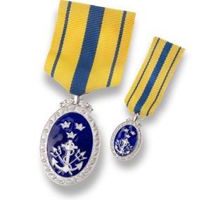 Medalis su miniatiūra